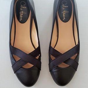 COLE HAAN Nikeair Black Ballet Flats Size 8